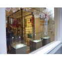 vitrine cloche en verre, 45 x 45 x 45 cm (lxLxh)