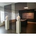 Socle Solits blanc 35 x 35 x 115 cm