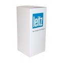 socle carton blanc, 30 x 30 x 100 cm (lxLxh)
