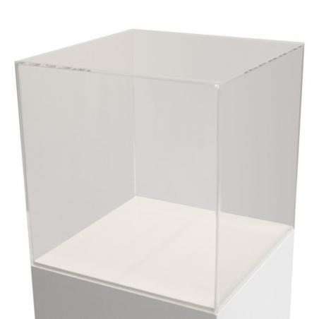 couvercle en plexiglas, 50 x 50 x 50 cm (lxLxh)