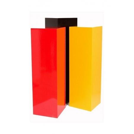 sokkel MDF kleur 50 X 50 X 100 cm
