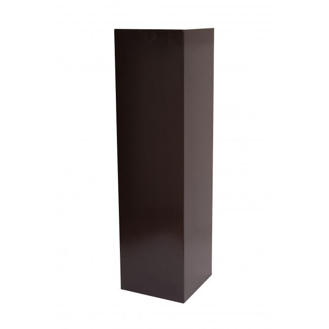 socle noir, 25 x 25 x 100 cm (lxLxh)
