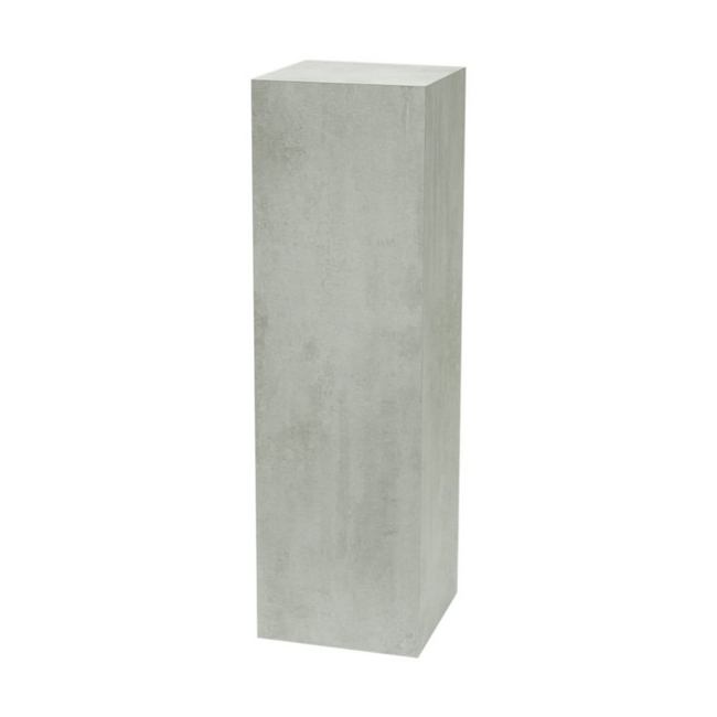 socle couleur beton, 50 x 50 x 100 cm (lxLxh)