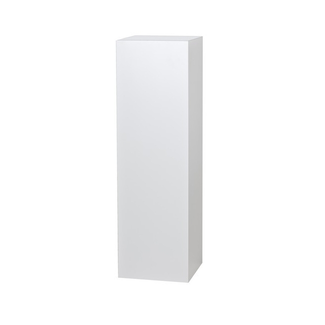 socle blanc, 20 x 20 x 110 cm (lxLxh)