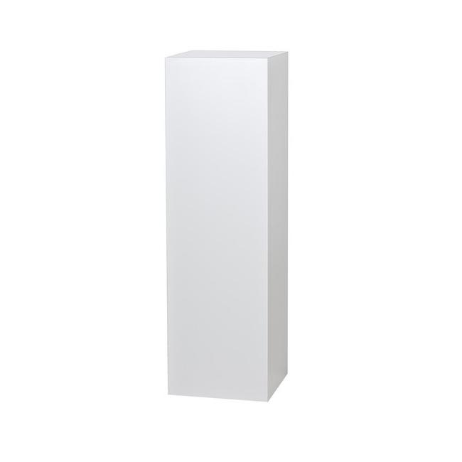 socle blanc, 35 x 35 x 100 cm (lxLxh)