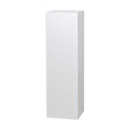 socle blanc, 40 x 40 x 115 cm (lxLxh)
