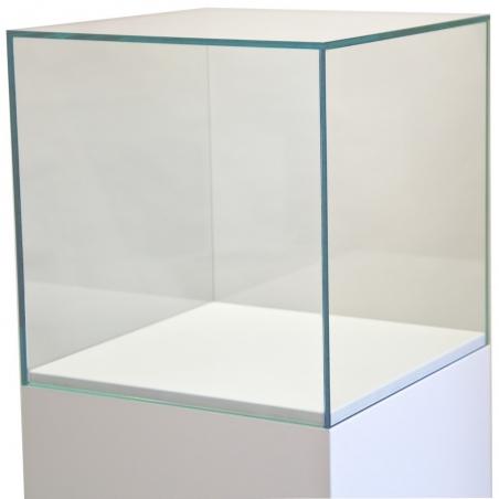 couvercle en verre, 40 x 40 x 40 cm (lxLxh)