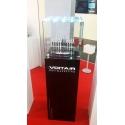 Vitrine en verre - LED intégré avec porte, 30 x 30 x 30 cm (lxLxh)