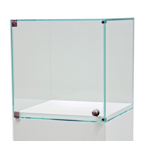 Vitrine socle avec porte 35 x 35 x 35 cm