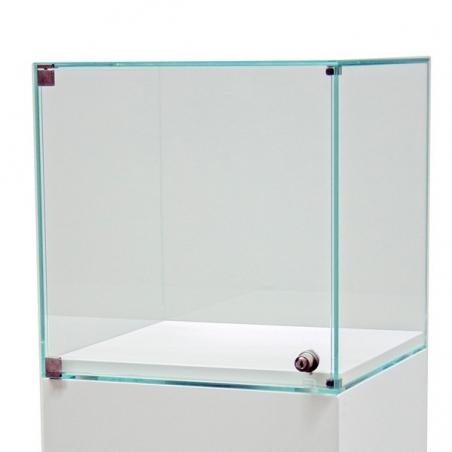 Vitrine socle avec porte 40 x 40 x 40 cm