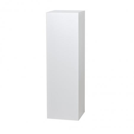 socle blanc brillant, 30 x 30 x 100 cm (lxLxh)