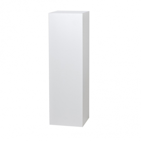 socle blanc brillant, 60 x 60 x 100 cm (lxLxh)