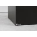 socle noir brillant, 30 x 30 x 100 cm (lxLxh)