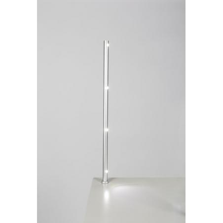 spot LED, type 7L, 405 mm, 4x1W, 6000K, Argent (avec alimentation électrique)