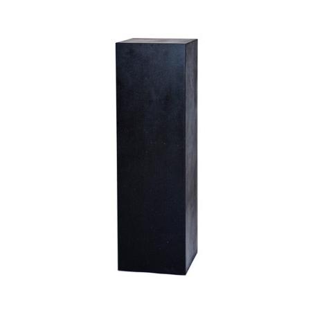 socle couleur pierre gris, 30 x 30 x 100 cm (lxLxh)