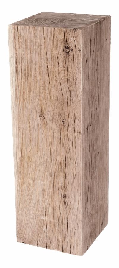 Socle chêne