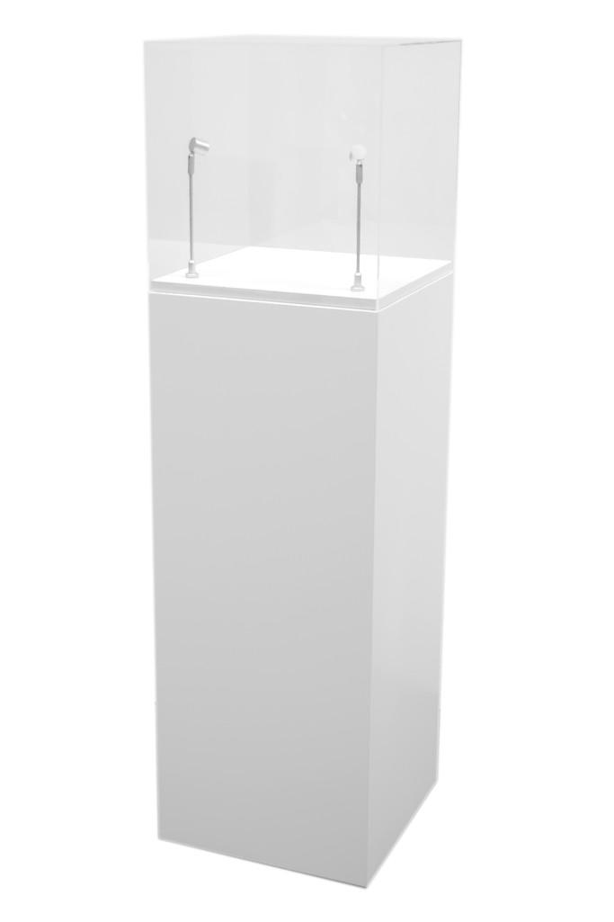 Pack socle + vitrine + led
