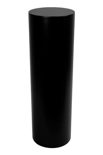 socle rond noir